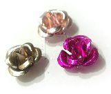 Metalowe kwiatki 12 szt